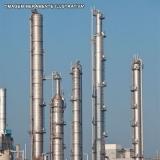 encomenda de isolante térmico para colunas de destilação Duque de Caxias