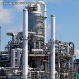 Isolante Térmico para Colunas de Destilação