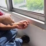 selante de poliuretano janela